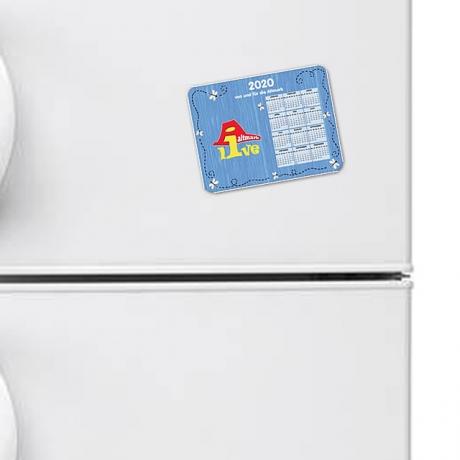 Aktmark-Live Magnet für den Kühlschrank