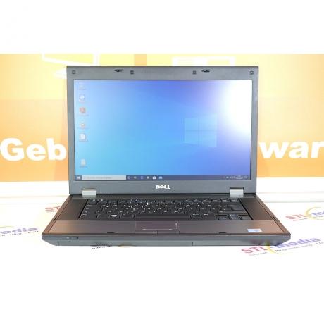 """15,6"""" Dell Latitude E5510,  580M  i5 2x2.66 GHz, 4 GB DDR3, Win 10 Pro"""