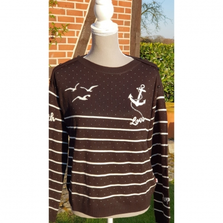 Seaside Cottage Sweater