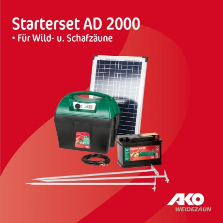 Starterset AD 2000 digital ohne Solarmodul