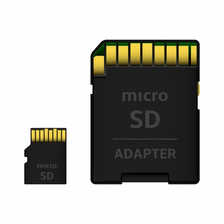64 GB Micro SD Karte ink. Adapter