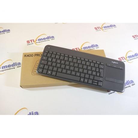 Logitech Tastatur K400 Plus grau