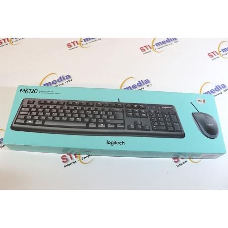 Logitech Tastatur-Set mk120