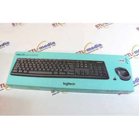 Logitech Tastatur-Set mk270
