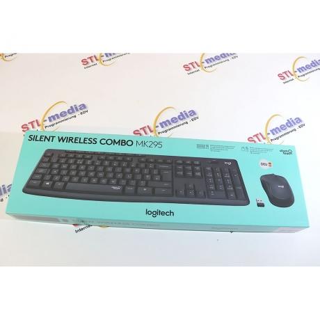 Logitech Tastatur-Set mk295