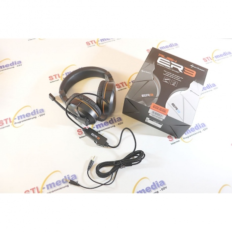 Sharkoon Rush ER3 Headset schwarz