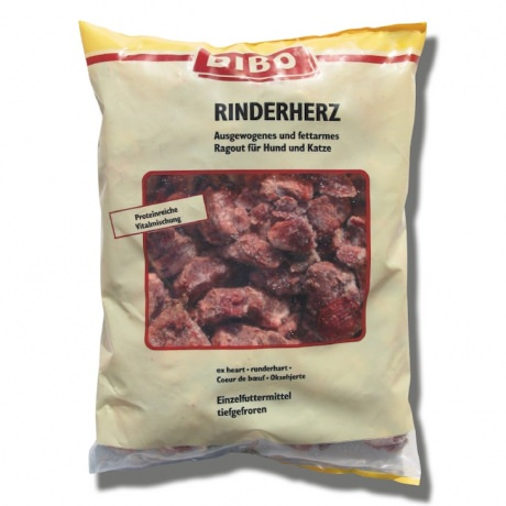 DIBO-Rinderherz, Frostfleisch; 500g