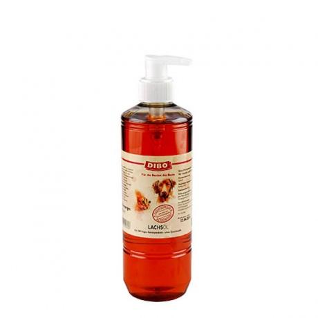 DIBO-Lachsöl mit Pumpe; 500ml