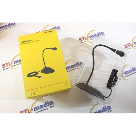 DeLock Standmicrofon USB