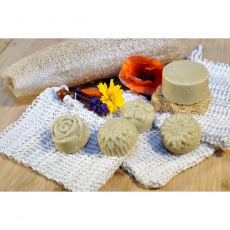 Shampoo & Duschstück - Hanf-Strohblume