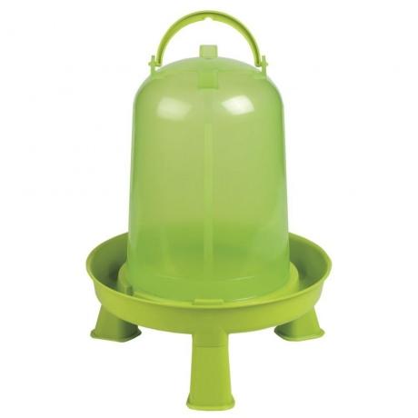 Kunststofftränke mit Standfüßen 10,0 Liter