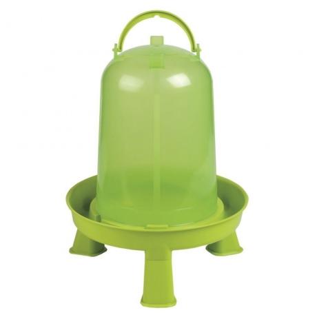 Kunststofftränke mit Standfüßen 3,0 Liter
