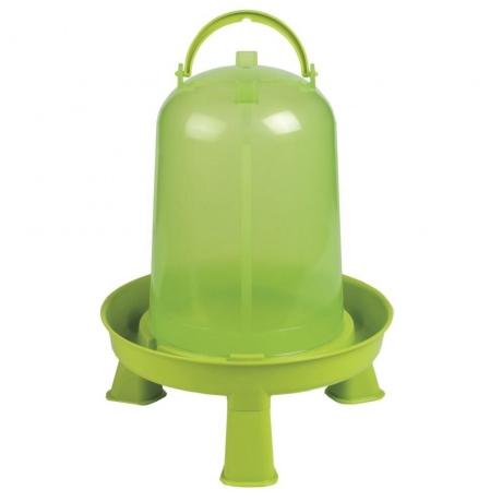 Kunststofftränke mit Standfüßen 8,0 Liter
