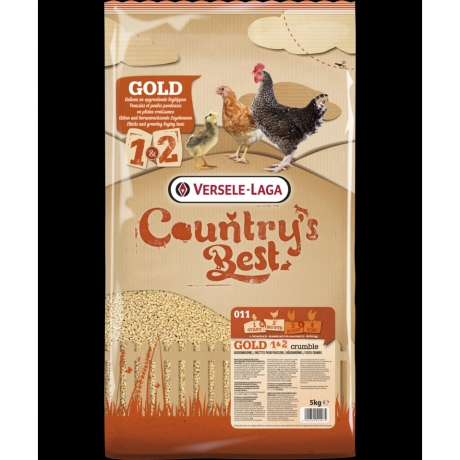 Country's Best GOLD 1 & 2 Crumble; 5kg