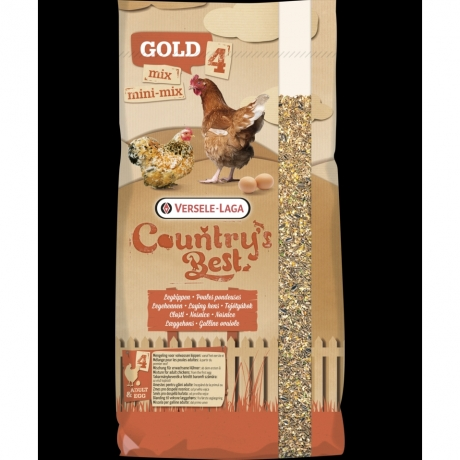 Country's Best GOLD 4 MINI Mix; 20kg