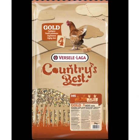 Country's Best GOLD 4 MINI Mix; 5kg