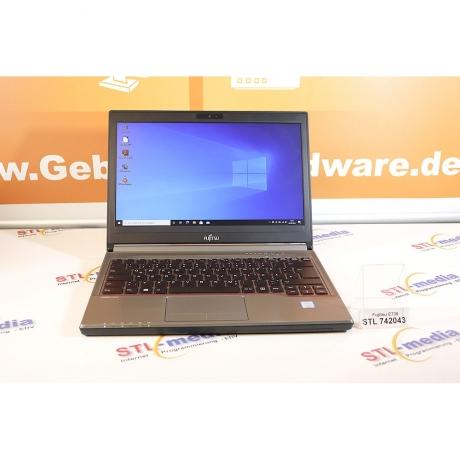 "13,3"" Fujitsu LIFEBOOK E736,  6300U  i5 2x2.40 GHz, 8GB DDR3, Win 10 Pro"