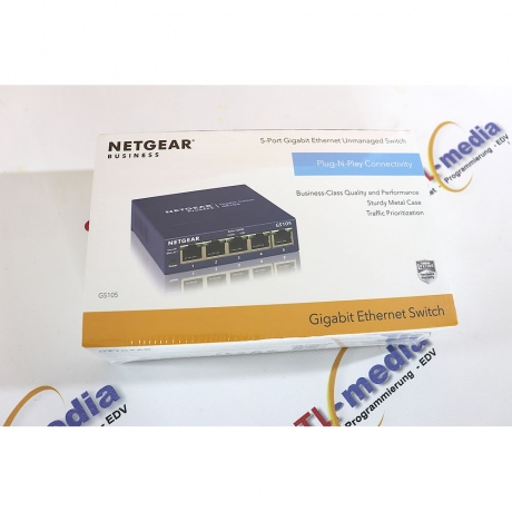 Netgear Switch 5-Port 1GBit GS105GE