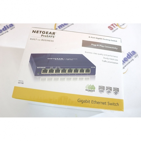 Netgear Switch 8-Port 1GBit GS108GE