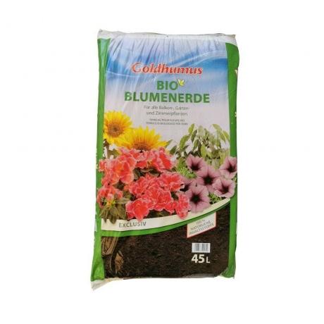Goldhumus Bio Blumenerde Exclusiv; 45Liter