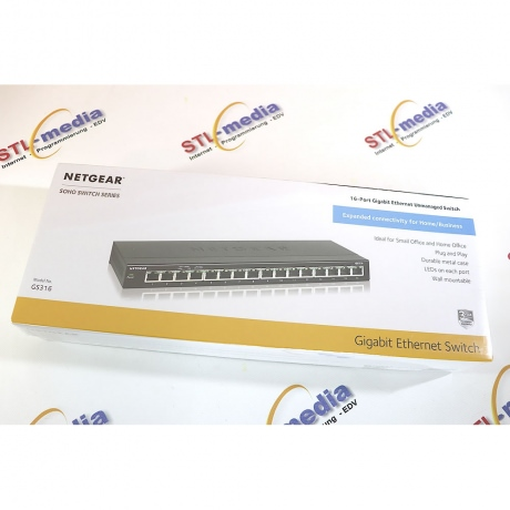 Netgear Switch 16-Port 1GBit GS316-100PES