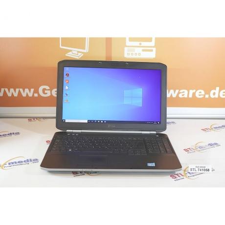 """15,6"""" Dell Latitude E5520,   2520M  i5 2x2.50 GHz, 8GB DDR3, Win 10 Pro"""